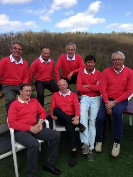 Équipe Seniors Hommes – Interclubs HN 2015
