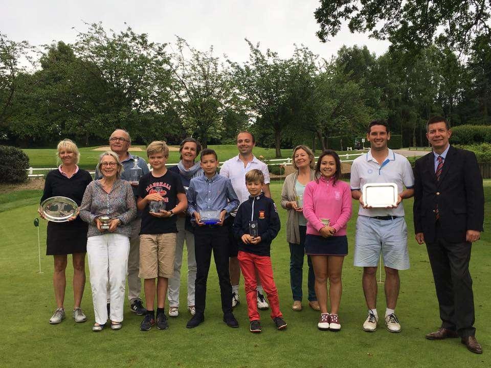 photo vainqueurs 2017 championnat du Club